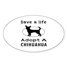 Adopt A Chihuahua Dog Decal