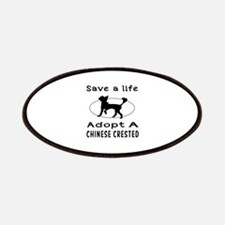 Adopt A Chinese Crested Dog Patches