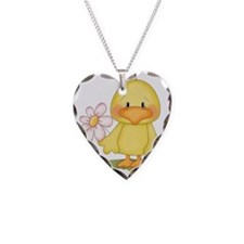 Chicken with flower Necklace