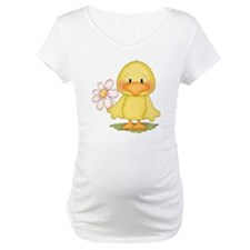Chicken with flower Shirt