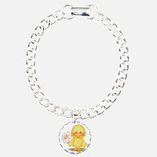 Chicken with flower Bracelet