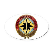 Life Cycle Mgmt Cmd - CECOM Oval Car Magnet