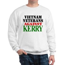 Vietnam Vets Against Kerry Sweatshirt
