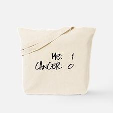Cancer Survivor Humor Tote Bag