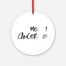 Cancer Survivor Humor Ornament (Round)