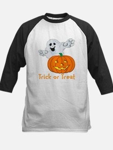 """Trick or Treat"" Kids Baseball Jersey"