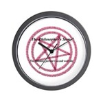 The Philosopher's Stone Wall Clock
