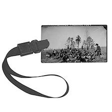 US Civil War Soldiers 1 Luggage Tag