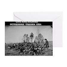 US Civil War Soldiers 1 Greeting Card