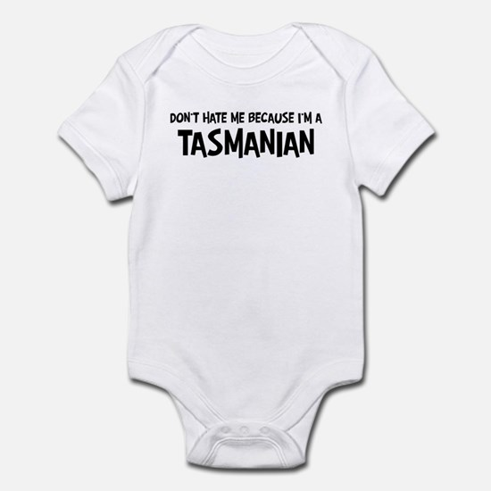 Tasmanian - Do not Hate Me Infant Bodysuit