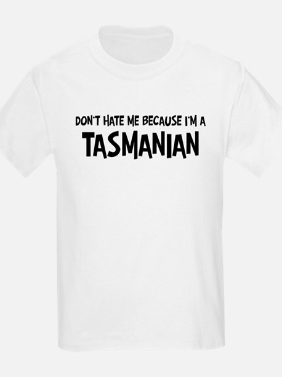 Tasmanian - Do not Hate Me Kids T-Shirt