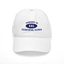 Property of EQUATORIAL GUINEA Baseball Cap