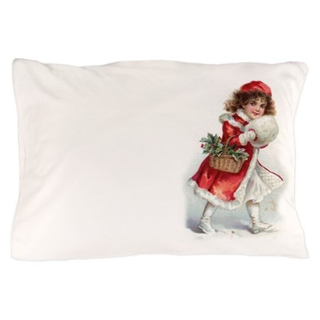 Pillow Case Vintage Christmas