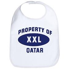 Property of QATAR Bib