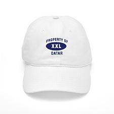 Property of QATAR Baseball Cap