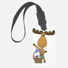 easter moose Luggage Tag