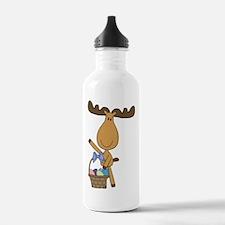 easter moose Water Bottle