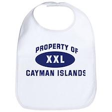 Property of CAYMAN ISLANDS Bib