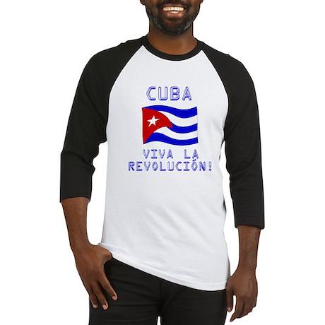 Cuba - Viva La Revolución Baseball Jersey