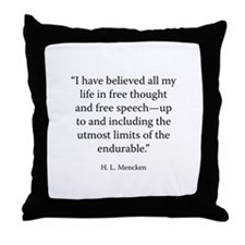 For the Defense Throw Pillow