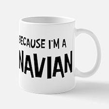 Scandinavian - Do not Hate Me Small Small Mug