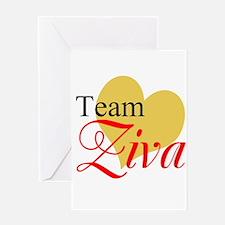Team Ziva Greeting Cards