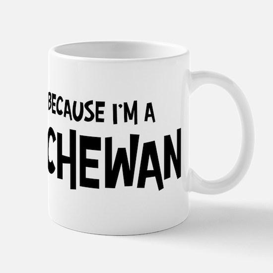 Saskatchewan - Do not Hate Me Mug
