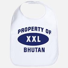 Property of BHUTAN Bib