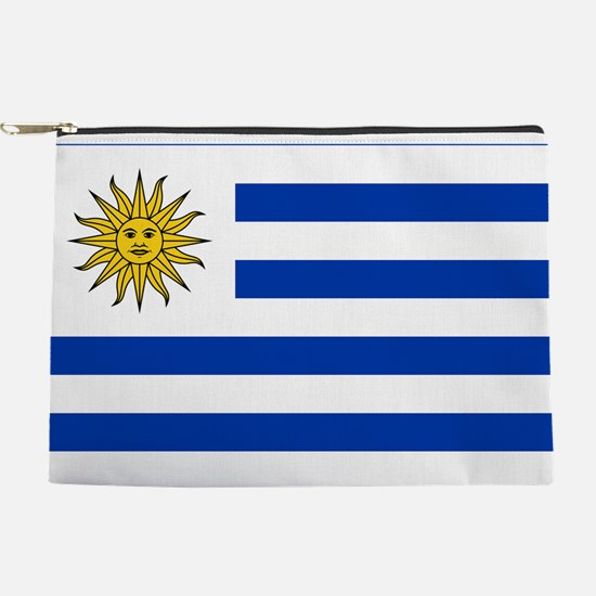 Flag of Uruguay Makeup Pouch