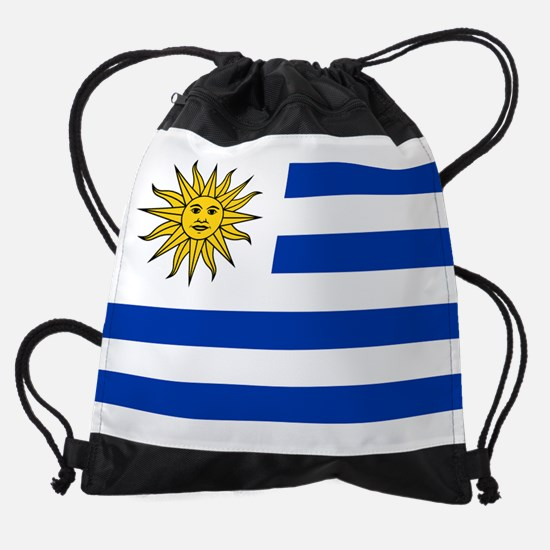 Flag of Uruguay Drawstring Bag
