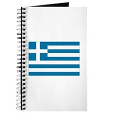 The flag of Greece Journal