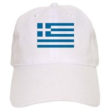 The flag of Greece Baseball Cap
