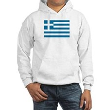 The flag of Greece Hoodie