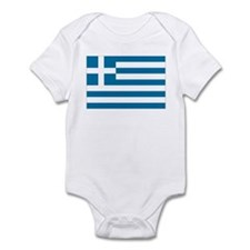 The flag of Greece Infant Bodysuit