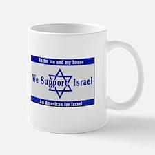 We Support Israel Mugs