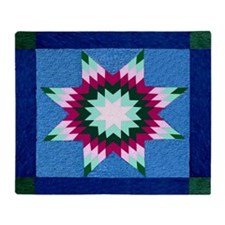 Star Quilt Throw Blanket