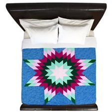 Star Quilt King Duvet