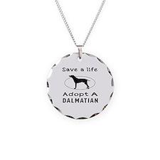 Adopt A Dalmatian Dog Necklace