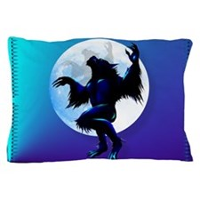 Werewolf On The Loose Oval Pillow Case