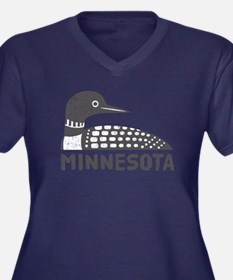 Minnesota Loon Plus Size T-Shirt