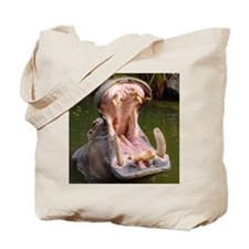 Hippo - Open Wide - Tote Bag