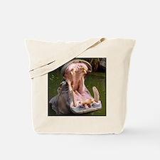 Hippo - Open Wide - Tote Bag