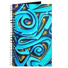 Blue Graffiti Journal