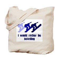 Rather be Boarding Tote Bag