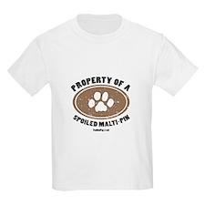 Malti-Pin dog Kids T-Shirt