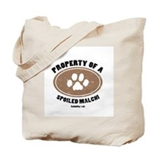 Malchi dog Tote Bag