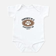 Mal-Shi dog Infant Bodysuit