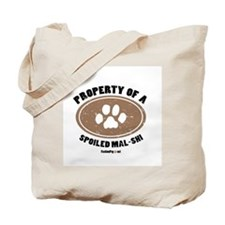 Mal-Shi dog Tote Bag