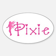 Pixie Oval Decal