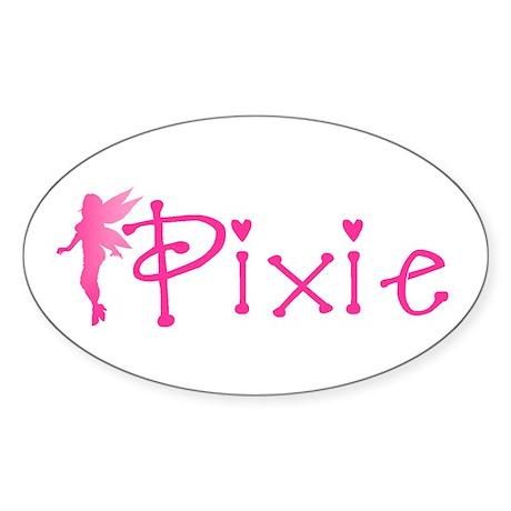 Pixie Oval Sticker